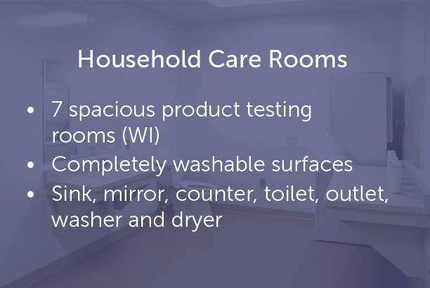 Household Care Rooms