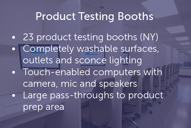 Product Testing Booths